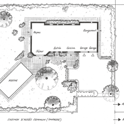 PLAN CONCEPTION PERSONNALISEE JARDIN